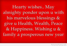 Cute wishes for the new year