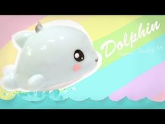 ▶ ◕‿◕Dolphin! Kawaii Friday 85 - Tutorial in Polymer clay! - YouTube