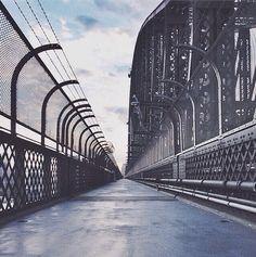 The Sydney Harbour Bridge in Australia.