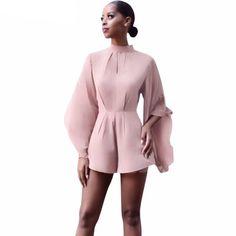Elegant Women Short Jumpsuit