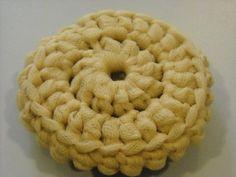 crochet scrubbie pattern | Nadine's Patterns: Tulle Dish Scrubbers- Crochet