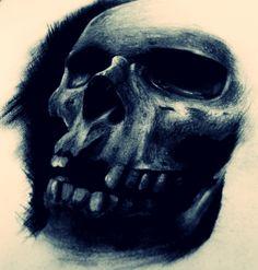 desenho ,cranio, skull,caveira,tattoo