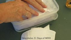 Debt Free, Cashed Up and Laughing - The Cheapskates way to living the good life: 31 Days of MOO No. 3 Re-usable Face Wipes