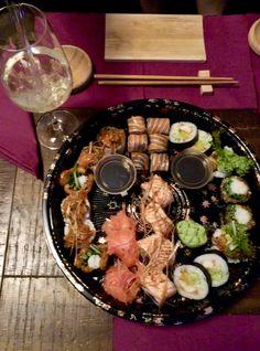 Tempura Sushi, Cobb Salad, Food, Meals, Yemek, Eten