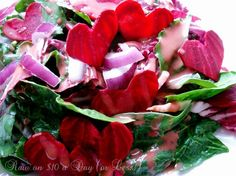 Raw Food Recipe: Heart Beet Salad...