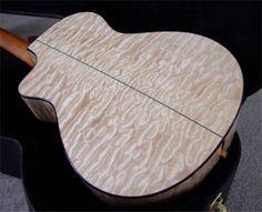 custom shop Taylor guitar with quilted maple body Best Acoustic Guitar, Acoustic Guitars, Cool Guitar, Resonator Guitar, Fender Guitars, Adventure Time Princesses, Taylor Guitars, Guitar Painting, Custom Guitars