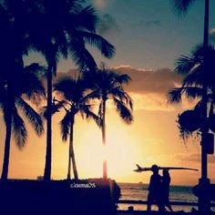 Wakiki beach Hawaii