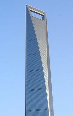 Centro Financiero Internacional de Shanghái (Shànghǎi huánqiú jīnróng zhōngxīn)