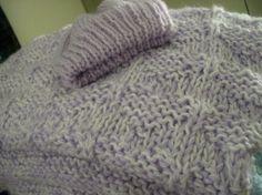 Hidden Hearts Baby Blanket Soft Purple by WendysWonders127 on Etsy, $50.00