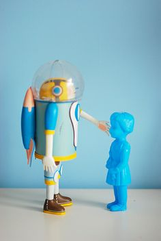 I have a blue clonette doll ! Nice to meet you! by Eddy Li, via Flickr