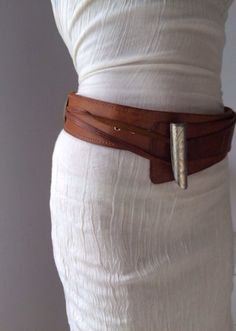 WIDE LEATHER BELT tribal Fusion belt waist belt by ScandaloAlSole                                                                                                                                                                                 More