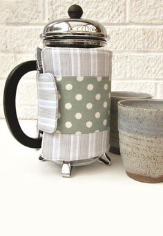 Cafetiere cosy sewing pattern