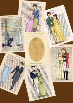 Hey, I found this really awesome Etsy listing at http://www.etsy.com/listing/155803702/jane-austen-couples-postcards-set-of-12