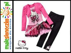 Cudny kpl. Hello Kitty tunika   legginsy  5L 110