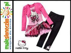 Cudny kpl. Hello Kitty tunika   legginsy  5L 110
