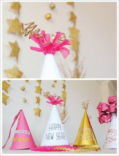 New Year's Hat Making Party Idea