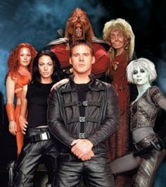 Farscape - A surprisingly good bizarre SciFi show from the 90's, I think.