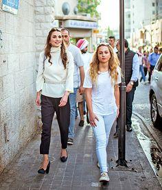 Queen Rania of Jordan, Look-Alike Daughter Iman Are Just Too Pretty - Us Weekly