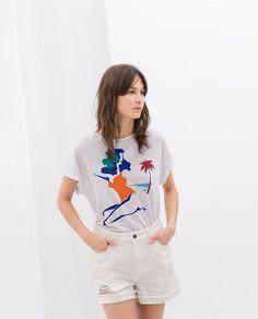 T - SHIRT - Estampadas - T - shirts - MULHER | ZARA Portugal