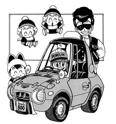 鳥山明 Dr,Slump - Rocketumblr