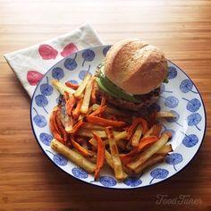 Easy bean burger on Food-Tuner.com