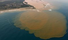 Mining waste reaches Brazilian coast two weeks after BHP dam collapse (11/23/15)
