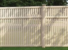 The Imperial vinyl fence is ideal for a semi-private fence. The narrow spaces between the 3 inch pickets all but block the view, especially at angles while at the same time allowing some air to move through the fence. For that reason, this style is a better choice than a solid vinyl fence in high …