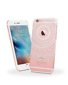 iPhone 6s Case, iPhone 6 Clear Case, MOSNOVO Totem Collection White Henna Mandala Custom Printed Design Ultra Slim Hard Case for Apple iPhone 6/6s Cellphone Cover MOSNOVO http://www.amazon.com/dp/B018IB9NQE/ref=cm_sw_r_pi_dp_4dGVwb093J2S2