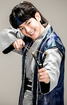 Baekhyun - 160823 SBS 'Scarlet Heart: Ryeo' website update Credit: SBS. ( SBS '보보경심: 려')
