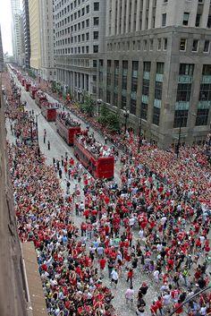hawks parade