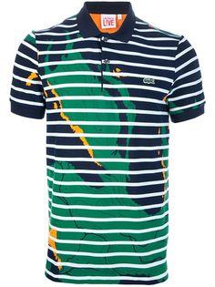 LACOSTE LIVE Camisa Polo Estampada.