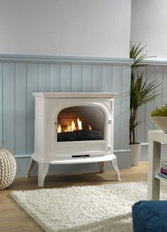 Artisan 6010 Flueless Gas Stove | Forty-Five Acres Living Room ...