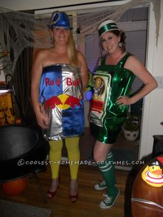 Coolest Jager Bomb Couple Halloween Costume... This website is the Pinterest of costumes