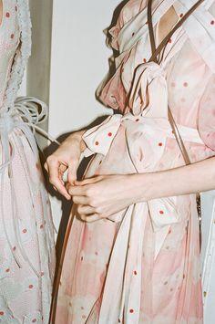 // Simone Rocha Kimono Tulle Dress