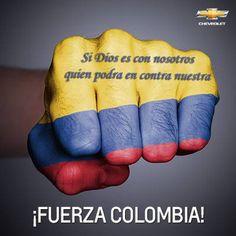 Sí DIOS es con nosotros, quien podrá en contra nuestra. ¡FUERZA COLOMBIA!