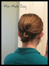Quick easy hairstyles for a busy mom  #hairstyles