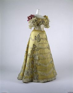 Dress, Evening  Duval and Eagan        ca. 1889
