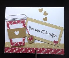 Combination of Cricut and stamped elements. Handmade Greetings, Greeting Cards Handmade, Ark, Place Cards, Cricut, Gift Wrapping, Place Card Holders, Stamp, Gifts