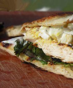 Sandwich au poulet tandoori, sauce au yogourt de Carole