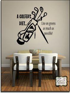 golf wall design