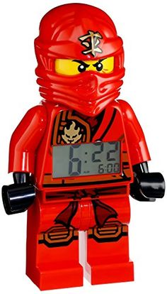 Lego Ninjago Alarm Clock Review #Lego is an awesome gift for boys!