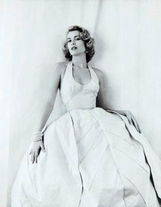 Grace Kelly photographed by Milton Greene, 1954...