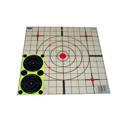 Birchwood-Casey 37213 Eze-Scorer Sight-In Targets White Grid Pack of 13 Paper Targets, Indoor Range, Shooting Targets, Shooting Accessories, Ebay, Survival Kits, Grid, Products