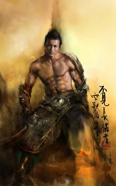 Weng Ziyang. Asian inspiration, drawings and digital renderings. Hanfu, wuxia, deities, and warriors. Legend of Five Rings, Dynasty Warriors... Fantasy art, Asian illustrations, digital painting