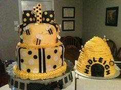 bee birthday cakes | Bumble Bee Cakes — Children's Birthday Cakes