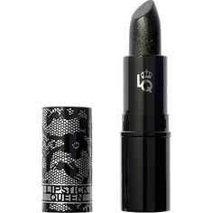 This mysterious black lipstick is like stockings, hugging and accentuating the curves of your mouth for a fuller-looking lip. It's so sheer that it has the effect of wearing black lace on your lips. Worn alone, it casts a smokey veil over the lips' natural color. Worn over another full-coverage lipstick, it transforms the color into a sexier, smokier version.