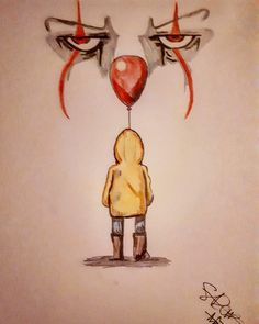 You'll Float Too #Sketch#It#Pennywise#YoullFloatToo
