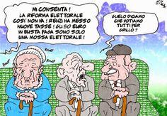 ITALIAN COMICS - Dramma politico e umano di Forza Italia: Sandro Bondi, il poeta di corte, abbandona Silvio Berlusconi…