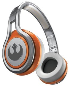 SMS Audio STREET by 50 First Edition Star Wars On Ear Headphones Rebel Alliance…