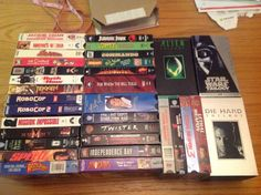 VHS TAPES LOT OF 39 ACTION-ADVENTURE Comedy kids SiFi MOVIES (RARE VINTAGE)